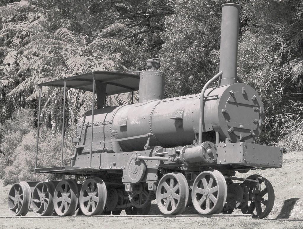Davidson Bush Locomotive