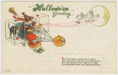 Hallowe-'en greeting. | by New York Public Library