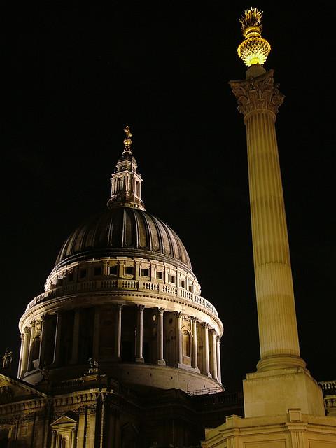 Paternoster Square Column, City of London, UK