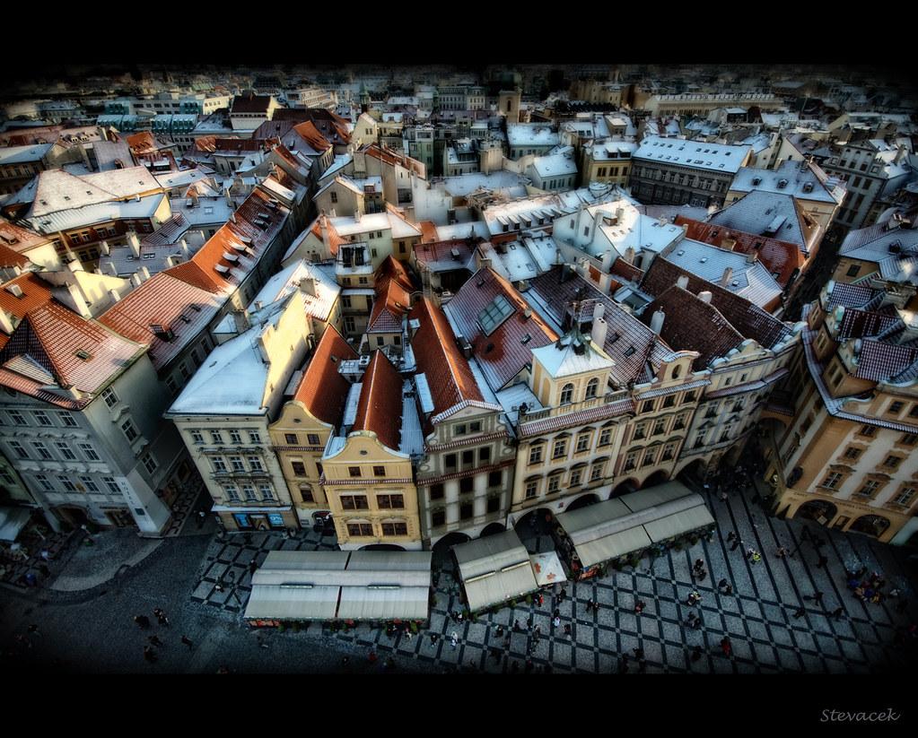 Old Town Square, Prague by Stevacek