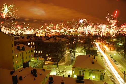helsinki newyears 2010, 447x double exposure | by miskaknapek