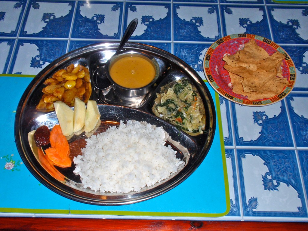Traditional Nepali Dinner