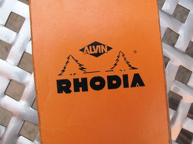 Rhodia cover