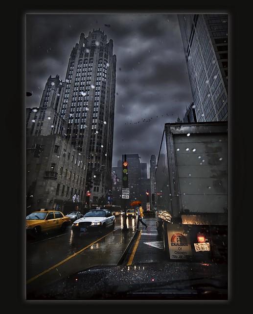 Rainy, Twilight Drive