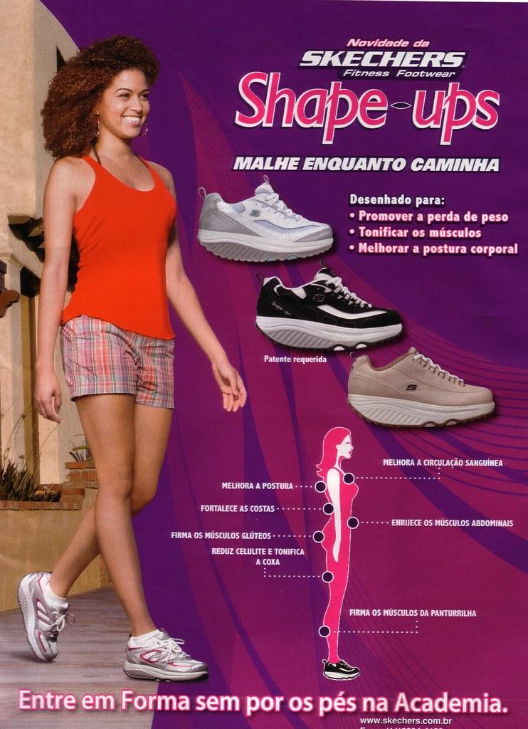 tenis importado skechers shape ups