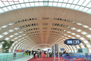 Charles de Gaulle Airport   by techbhoy