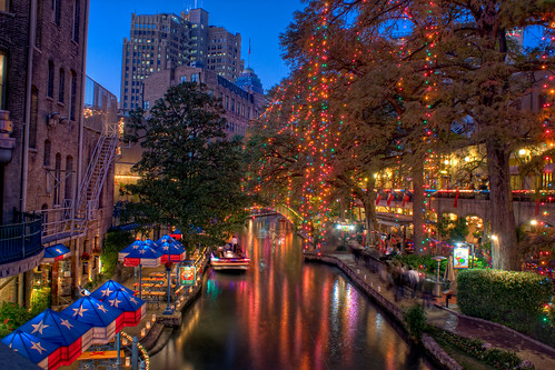 A Christmas Riverwalk | by Definitive HDR Photography