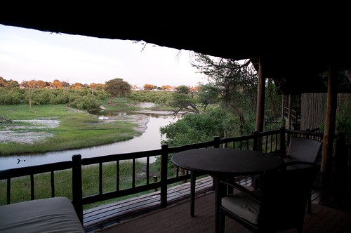 View from deck Savute Elephant Camp | by Di G.