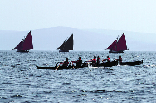 Currach racing, Galway