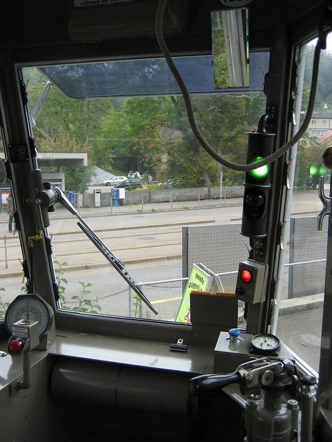Führerstand Ce 4/4 1530 Tram Museum Zürich Museumslinie 21 (26.09.09)