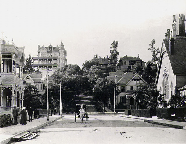 Los Angeles 1898 - Third and Hill
