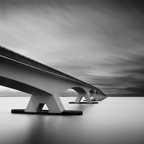 Bridge Study V - The Other Side by Joel Tjintjelaar