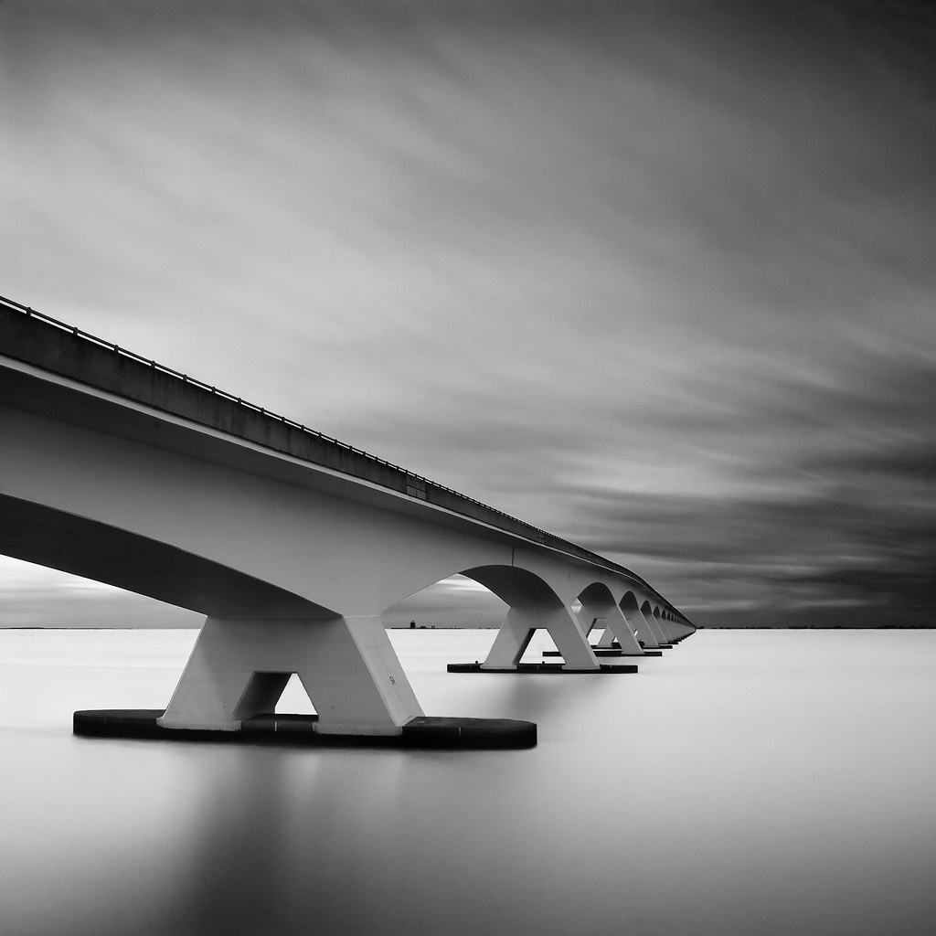 Bridge Study V - The Other Side by Joel Tjintjelaar