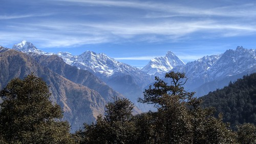 Auli scenery