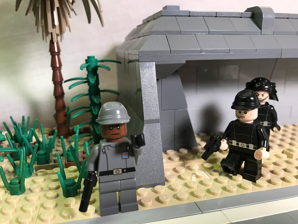 Lego Star Wars Scarif Wip 5 An Imperial Officer Directs Flickr