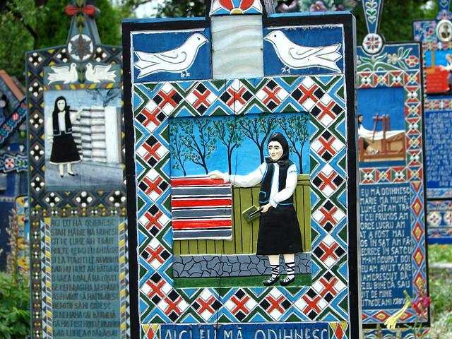 Merry Cemetery - Sapanta - Romania 01