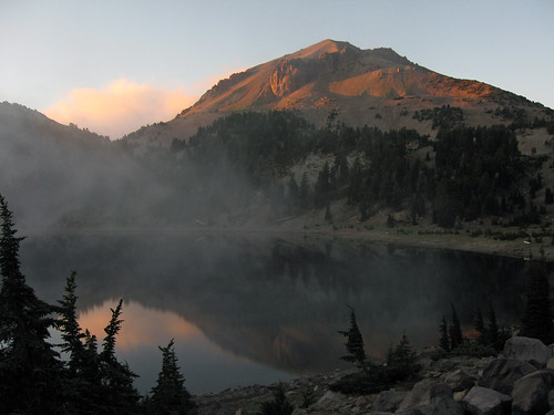 Mt Lassen at dusk | by Elaine with Grey Cats