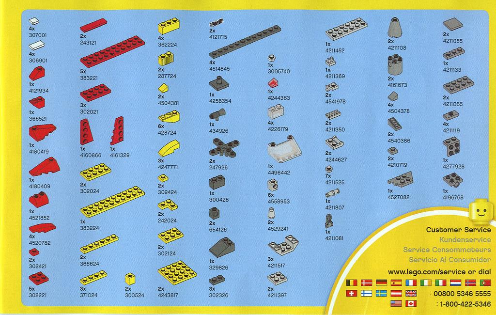 2010 LEGO - Creator 5866 Rotor Rescue Parts List   2010 ...