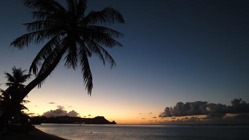 Guam's evening glow & sunset   by kokoloveguam