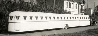 Uitschuifbare caravan / Extensible caravan