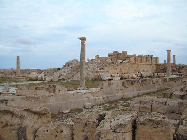 Templo Antonino Pio Sabratha Libia 11