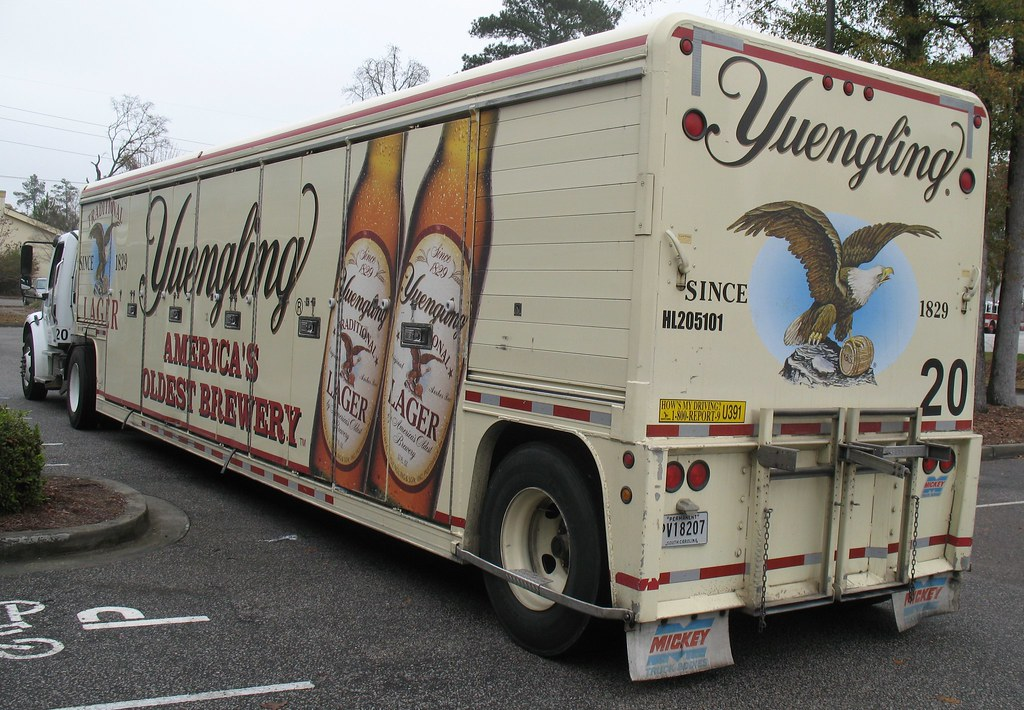 Yuengling Beer Truck   D G  Yuengling & Son, commonly called
