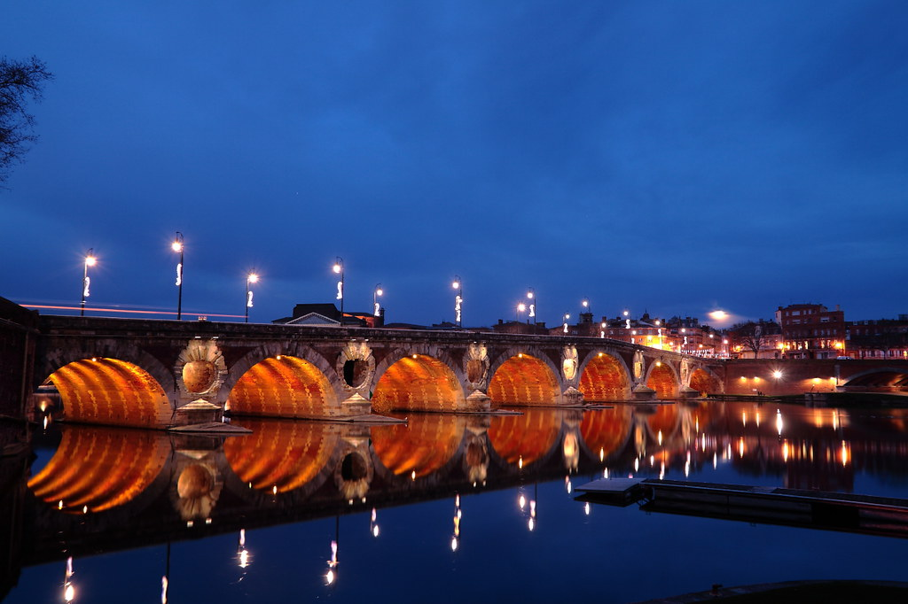 berges de la Garonne a Toulouse