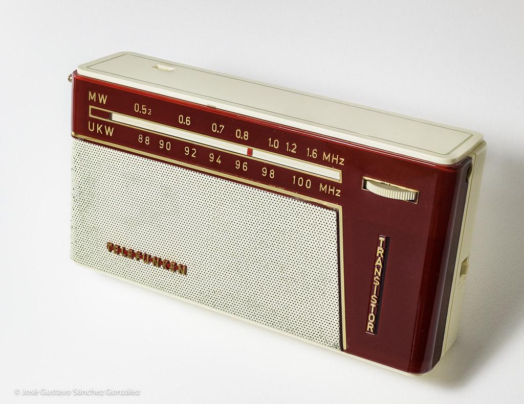 Telefunken UKW Partner 3081, UKW/MW Bands, Circa 1960 , Ma