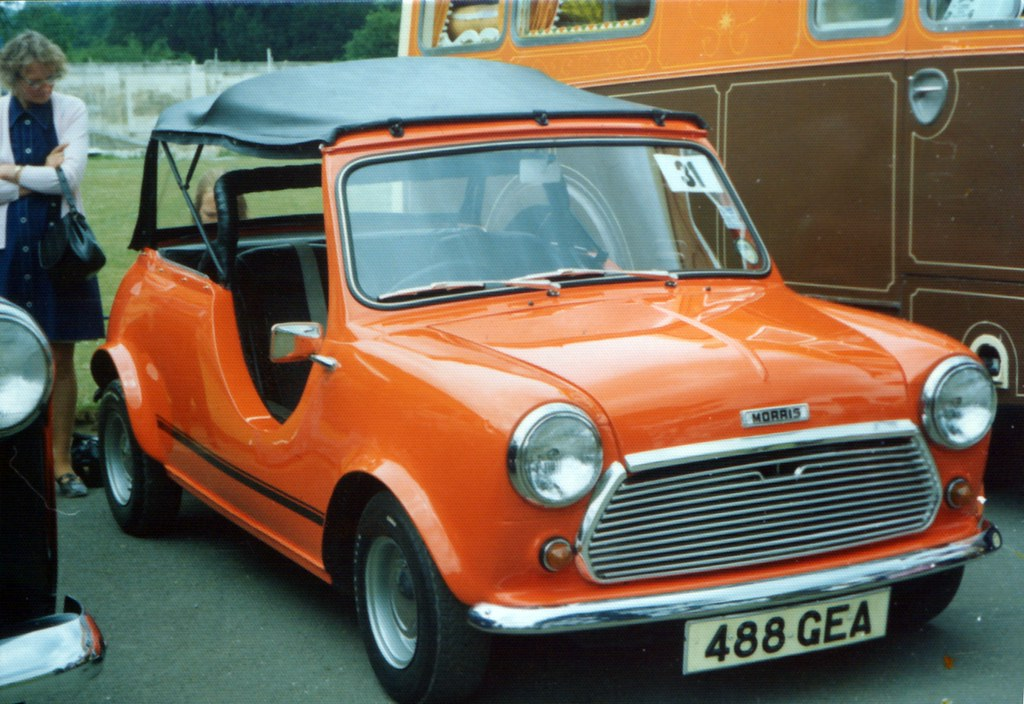 488 Gea Morris Mini Convertible Mini With Cut Away Sides Flickr