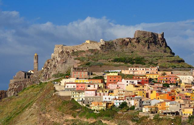 Castelsardo (Italy) - Le antiche mura