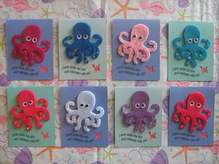 Sea Creature Party Invitations