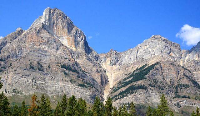 Mt. Wilson in Banff National Park