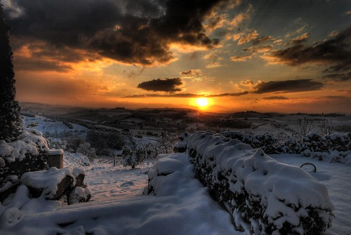 alba con neve | by francesco sgroi