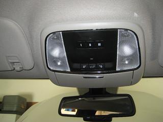2014 Dodge Durango Overhead Map Light Bulbs - Changing Burnt Out Bulbs