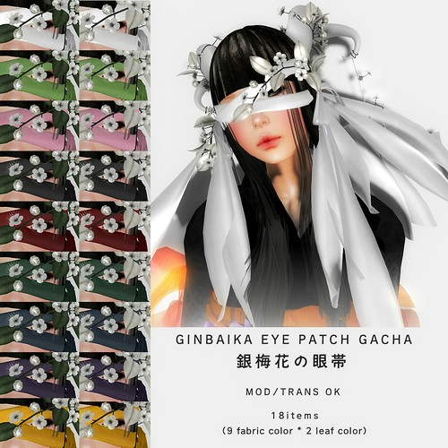*NAMINOKE*GINBAIKA EYE PATCH GACHA | by taiko McCaw