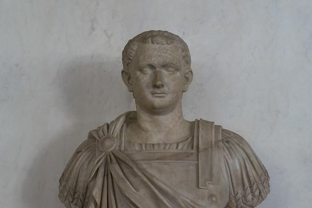 Walking the Uffizi Corridors – XIII: Titus Flavius Vespasianus [?] - I