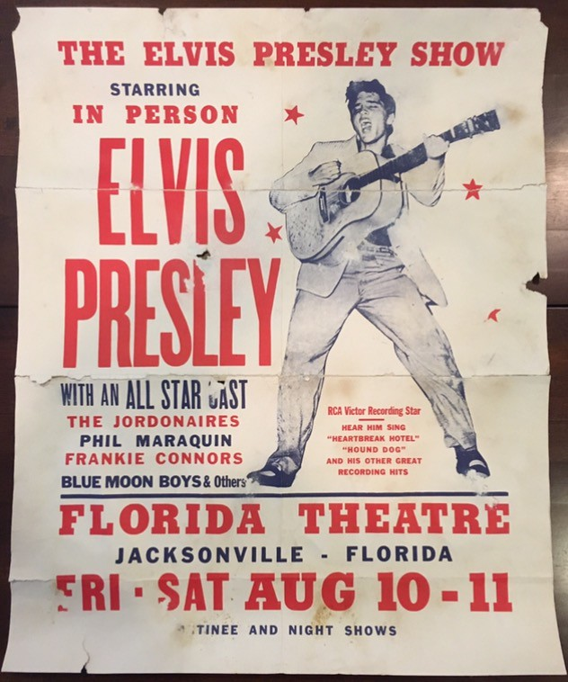daefd61c7563d Elvis Presley Original 1956 Jacksonville Florida Concert P… | Flickr