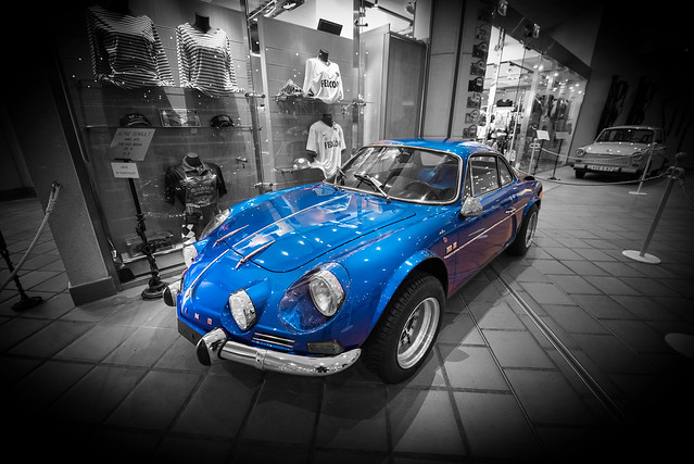 1971 Alpine Renault A110 1600 - Car Museum in Monaco