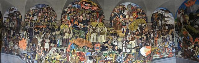 Diego Rivera - The history of Mexico (DSC_8811p)