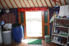 Entrance of a Mongolian ger tent   by East Asia & Pacific on the rise - Blog
