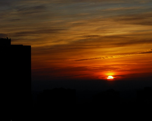 sun building silhouette clouds sunrise dawn nikon downtown colours ottawa nikkor d80 nikond80