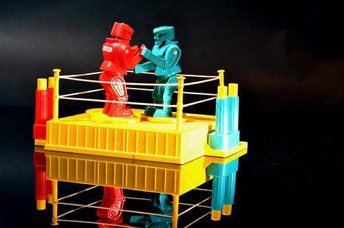 Robot Fight | by REL Waldman