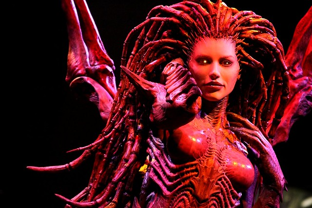 Sarah Kerrigan Queen Of Blades Statue 제레미 S ƒlickr