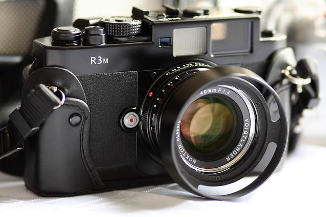 Voigtlander Bessa R3M and Nokton 40mm f1.4 MC