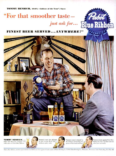 LIFE 1950-08-28 Pabst Blue Ribbon Ad | by Fugue
