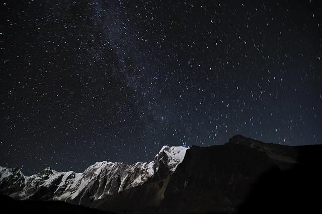 Starry Night, Dzongla, Nepal
