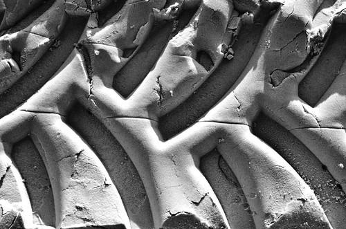 sand patterns treadmarks tiremarks mexicobeach