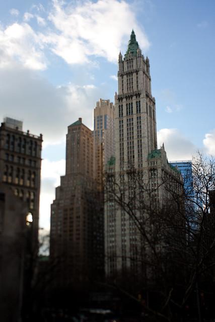 NYC: Brooklyn: Woolworth Building