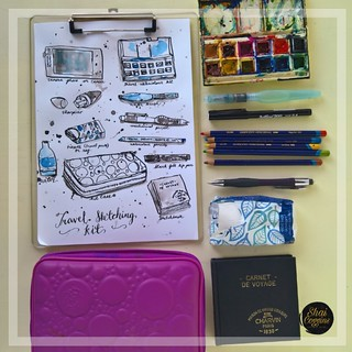 Travel Sketching Kit | by Shai Coggins