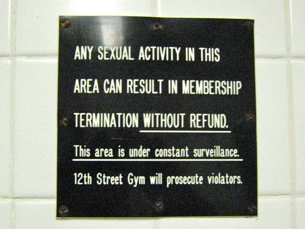 12th St Gym -- Please don't hook up